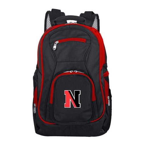 CLNEL708: NCAA Northeastern Huskies Trim color Laptop Backpack
